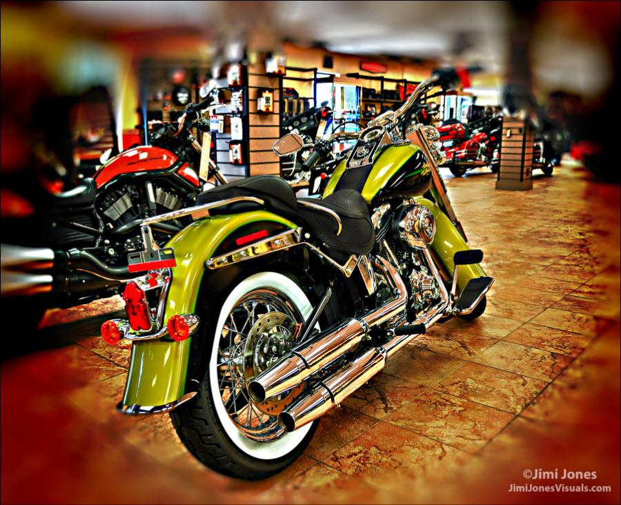 2012 Harley-Davidson Fatboy - Rear View