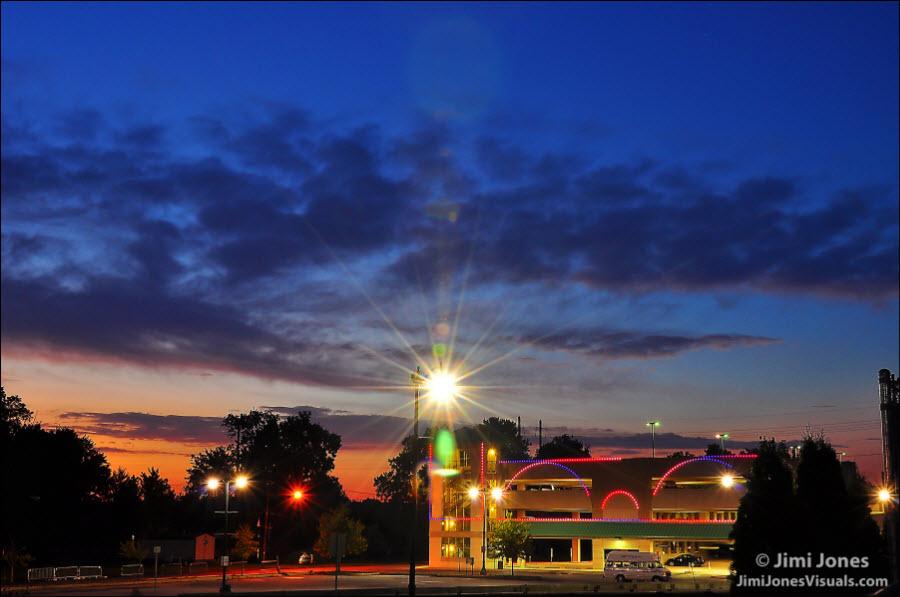 Daybreak in Harrisburg
