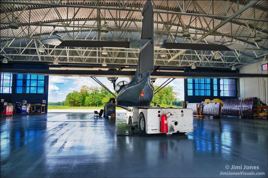 Hangar View - Rear