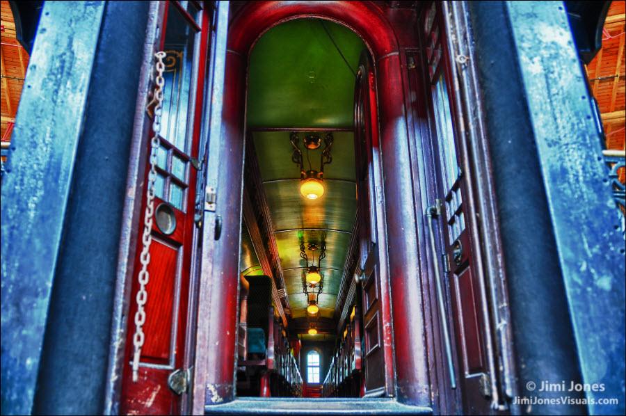 Royal Blue Line - Doorway View