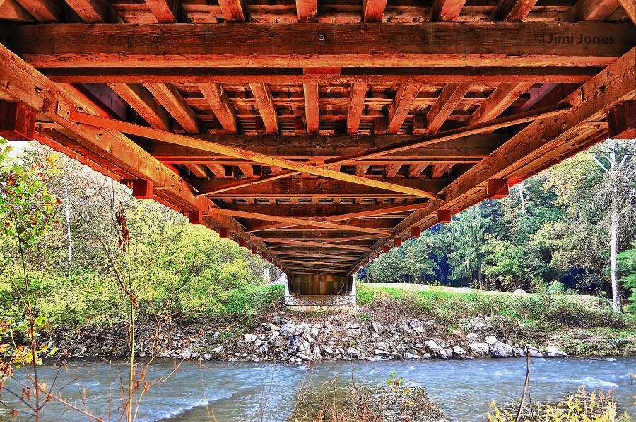 Covered Bridge - Pequea Creek - Bottom