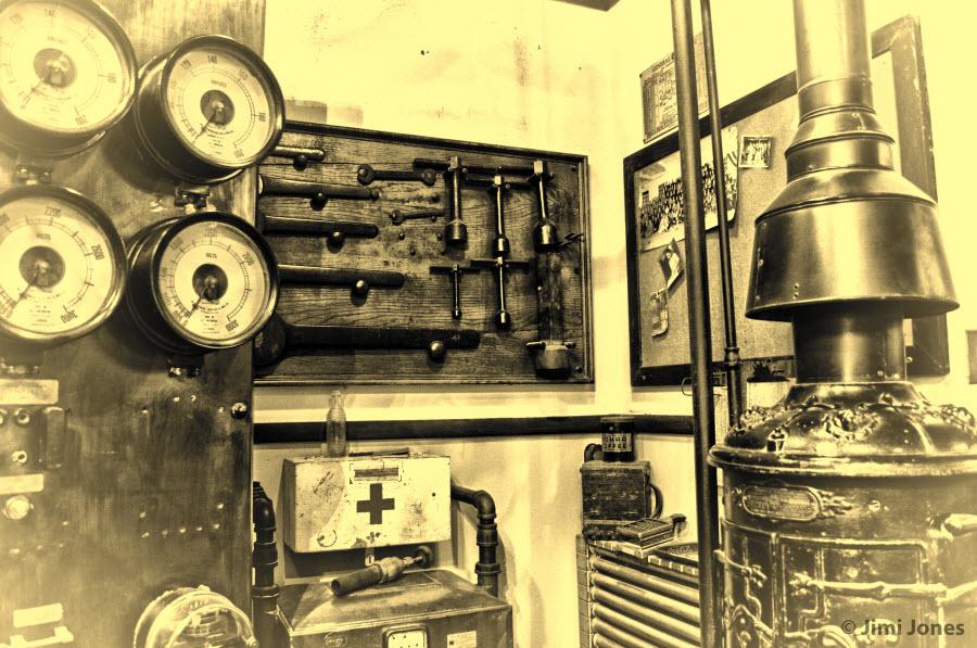 Electrical Control Room - Corner