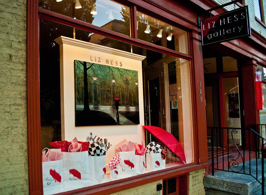 Liz Hess Gallery - Front Window