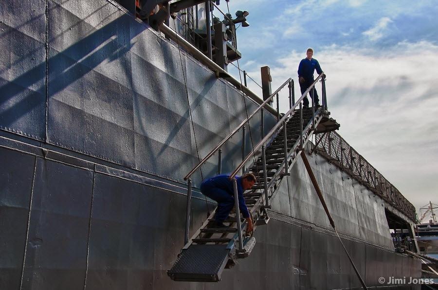 U27 Portside Gangplank