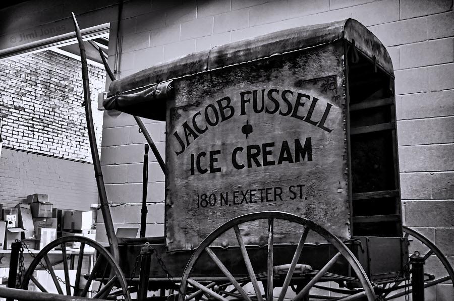 Jacob Fussell Ice Cream - B&W