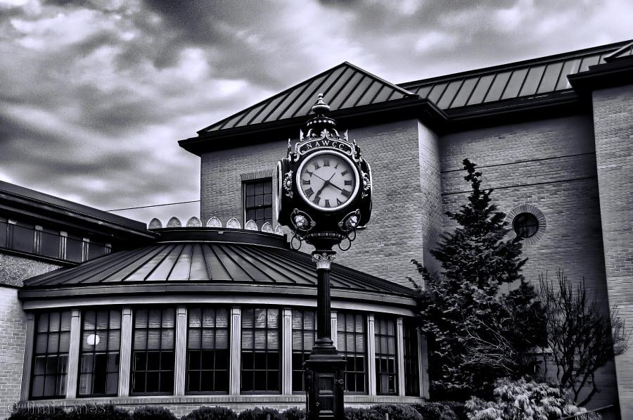 NAWCC Clock - B&W