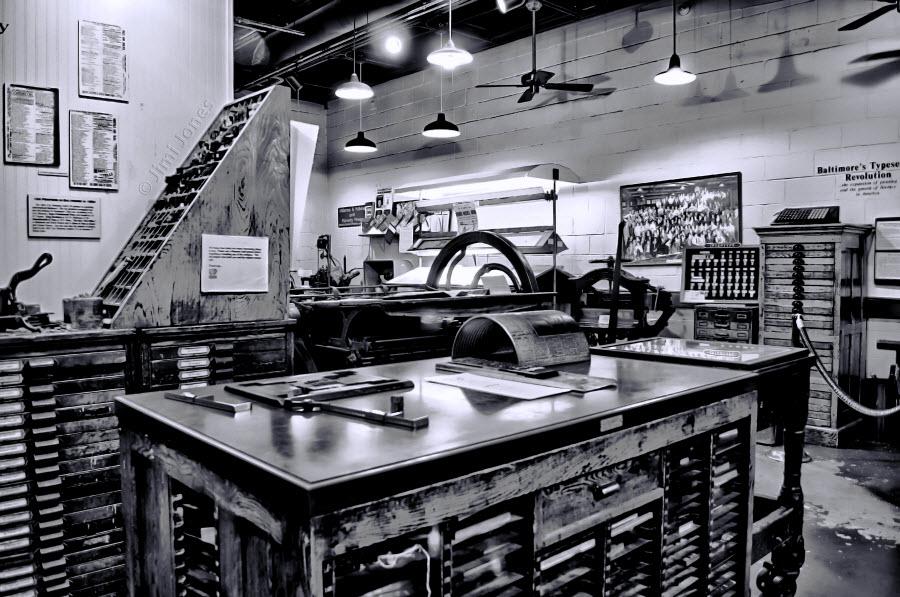Print Shop - B&W