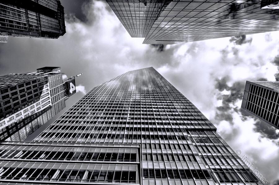 Skyscraping - B&W