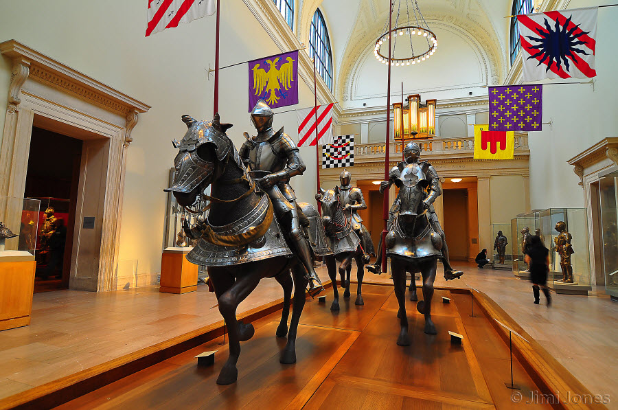 Suits of Armor Display