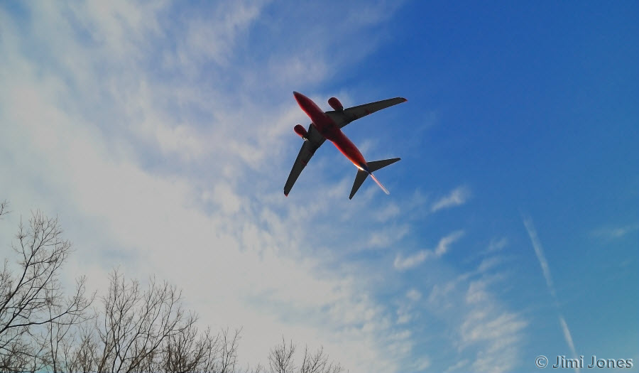 Southwest Airlines Flyover