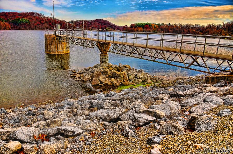 Water Intake Tower - Lake Redman