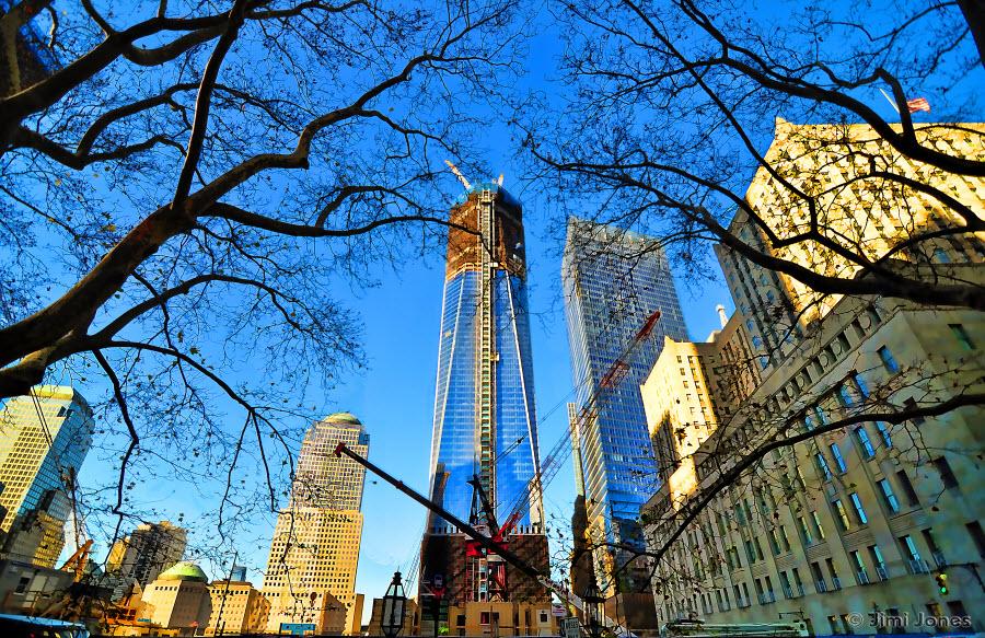 World Trade Center Memorial Construction