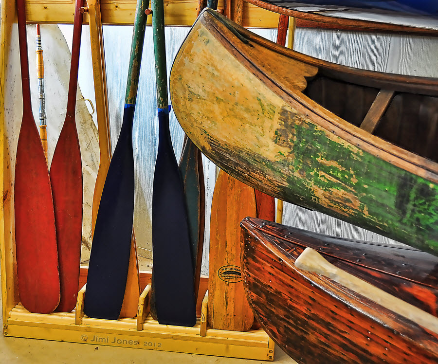 Oars and Canoes
