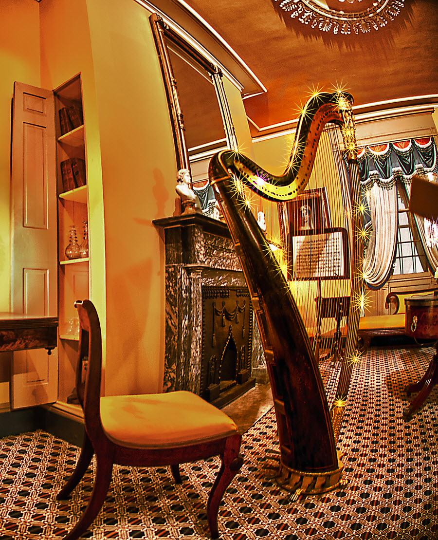 17th Century Harp