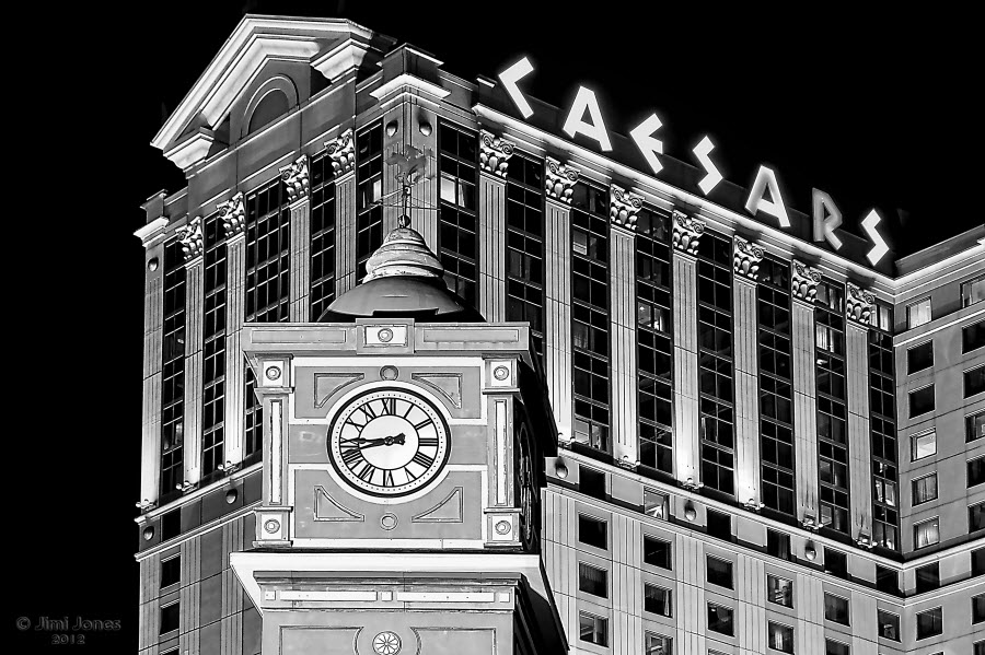 Caesars Atlantic City - B&W