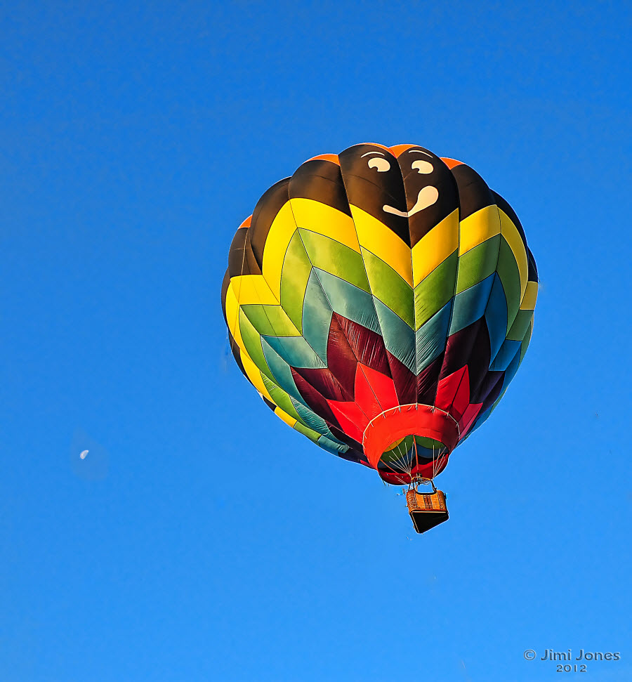 Hot Air Ballooning - Airborne