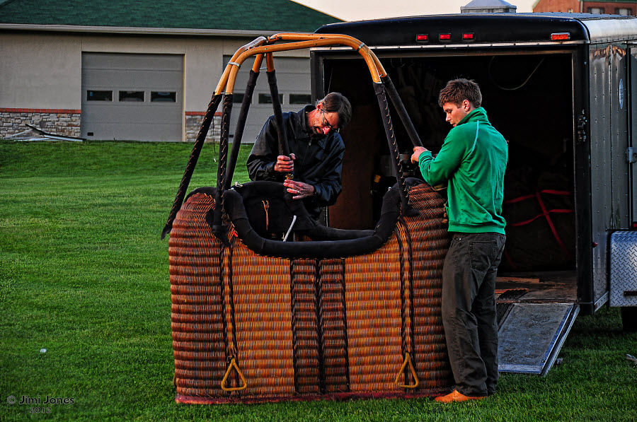 Hot Air Ballooning - Basket
