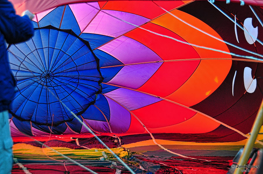 Hot Air Ballooning - Inside Look