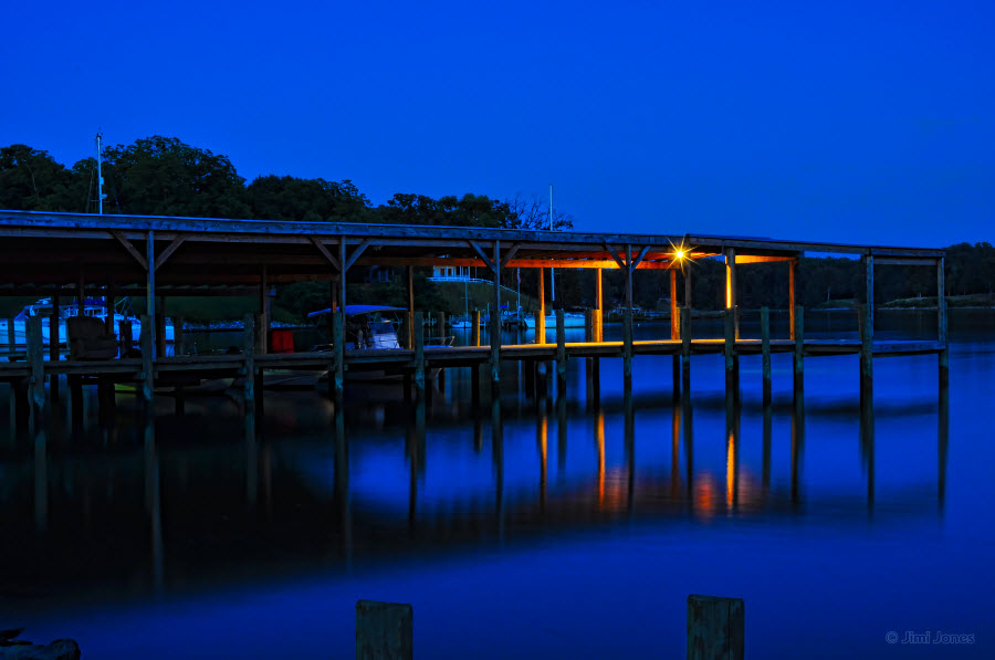 Blue Hour at the Dock