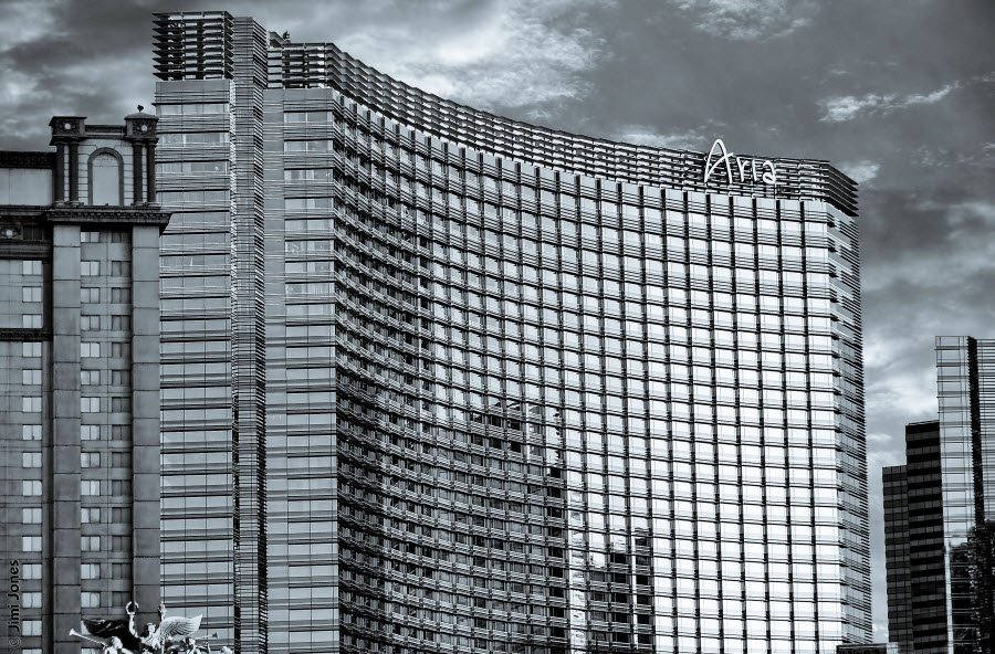Aria Resort & Casino - B&W