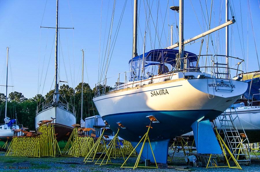 Boatyard in Lancaster