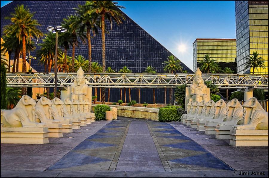 Luxor Entrance