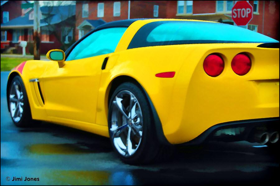 Yellow Vette