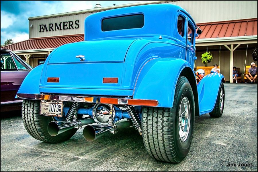 Blue Street Rod