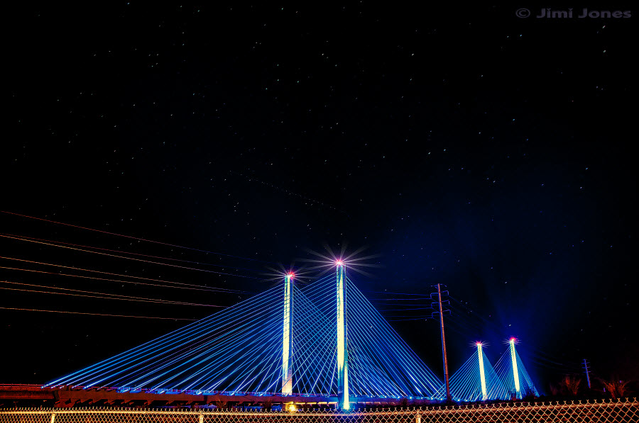 Indian River Inlet Bridge - Night View