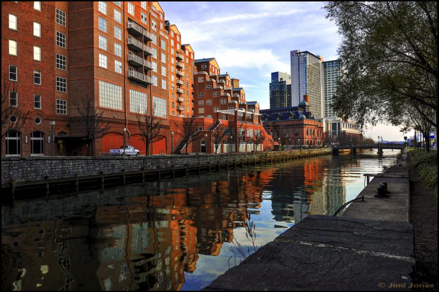 Falls Avenue Canal