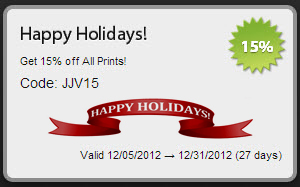 Happy Holidays Coupon