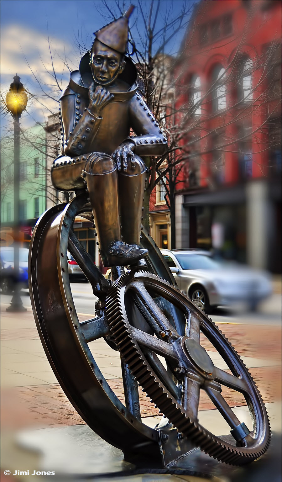 Photograph of the Tin Man