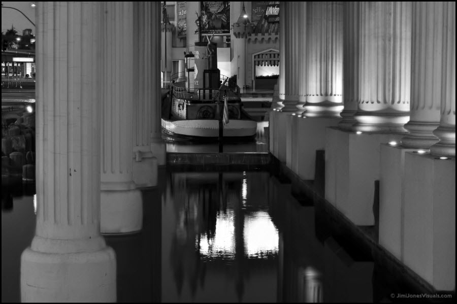 Pillars in Black & White