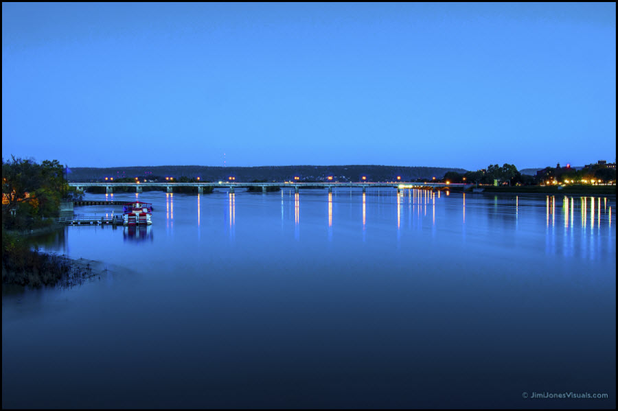 Blue Hour on the River