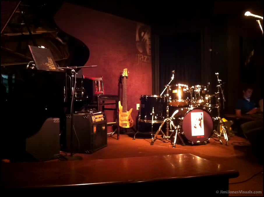 The Jazz Corner Stage