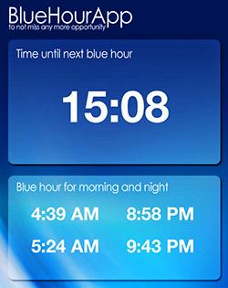 Blue Hour App