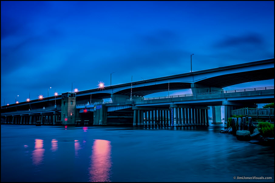 Bridge in Blue