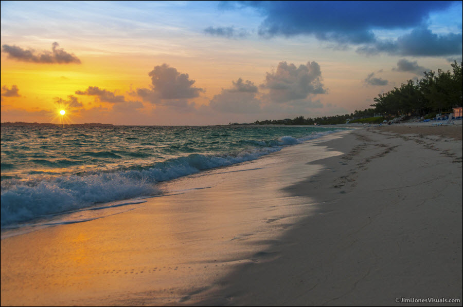 Sunrise on Paradise Island Bahamas
