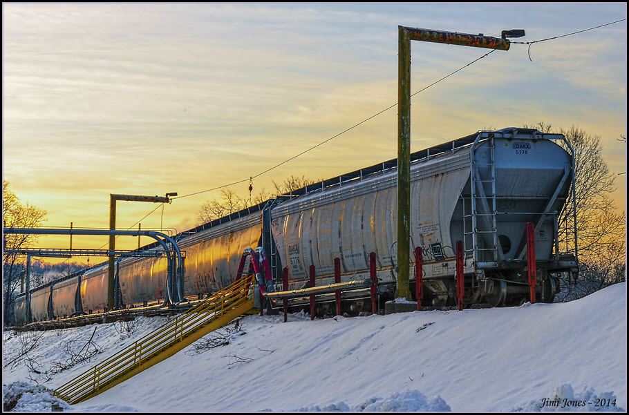 Railroad Container Cars