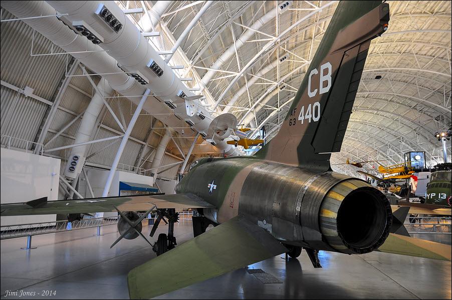 F-100D Super Sabre - Rear View