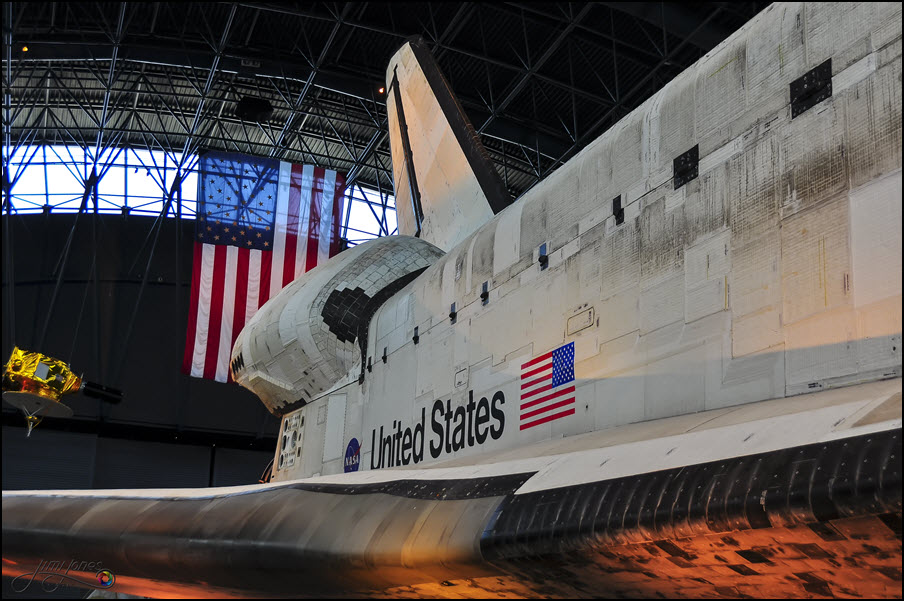 Space Shuttle Discovery - Side View