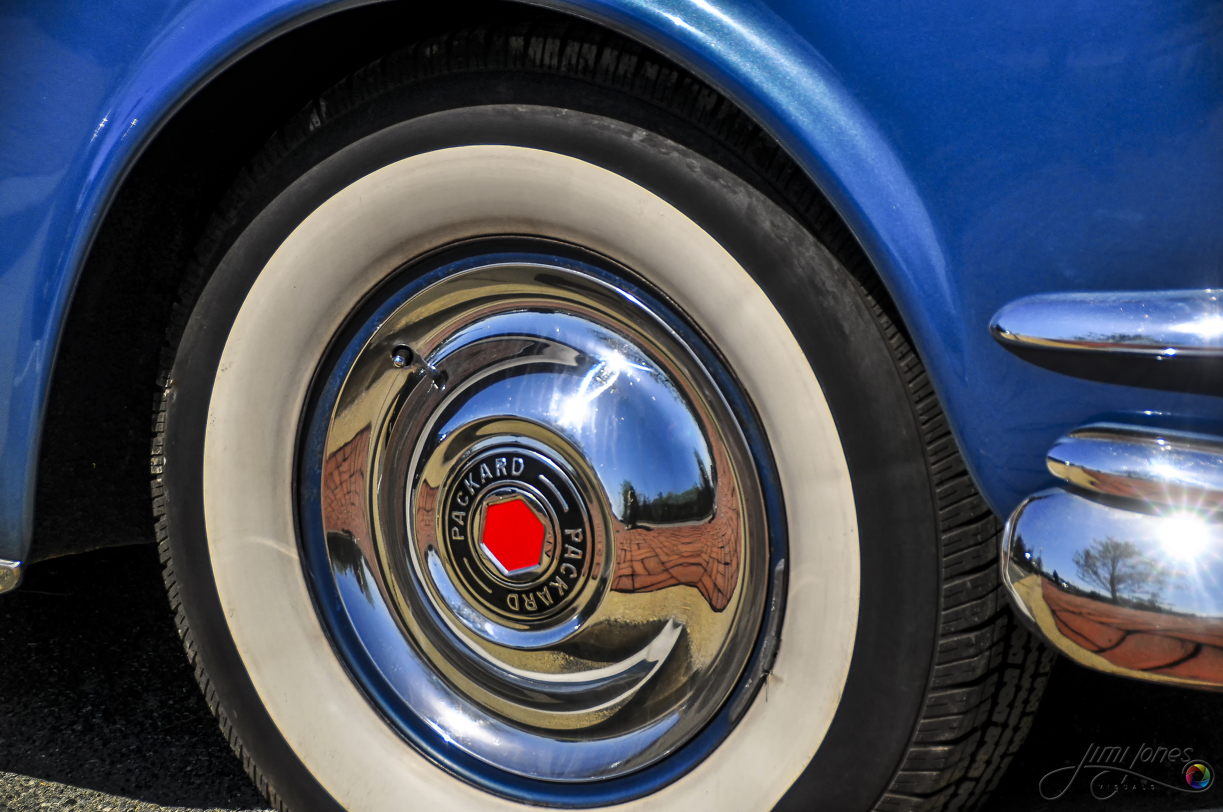 1954 Packard Front Wheel Cover