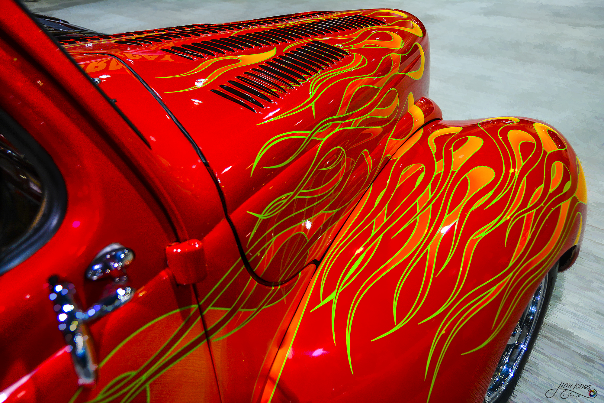 1940 Ford Coupe Street Rod - Abstract
