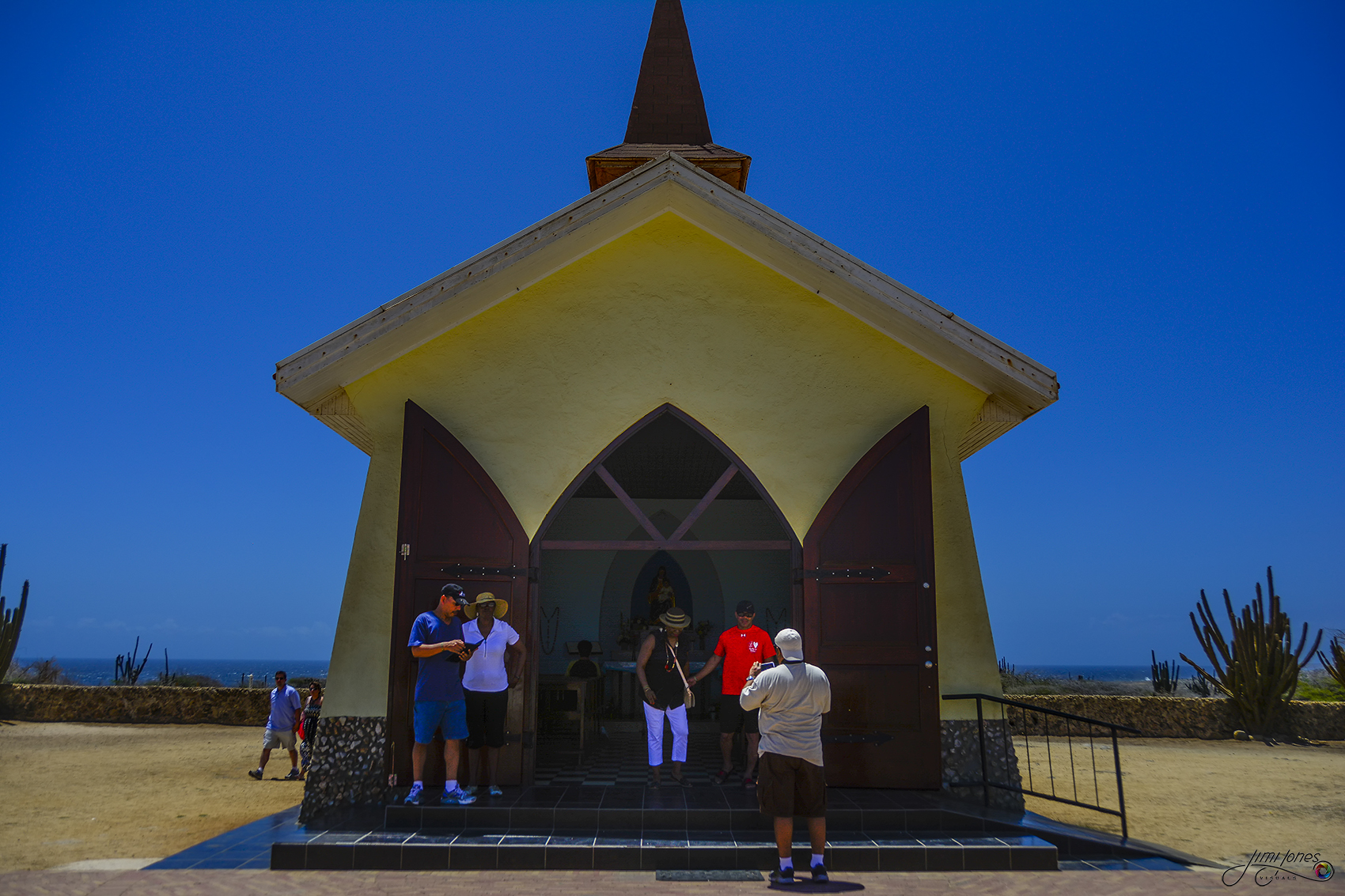 Alto Vista Chapel - Front View
