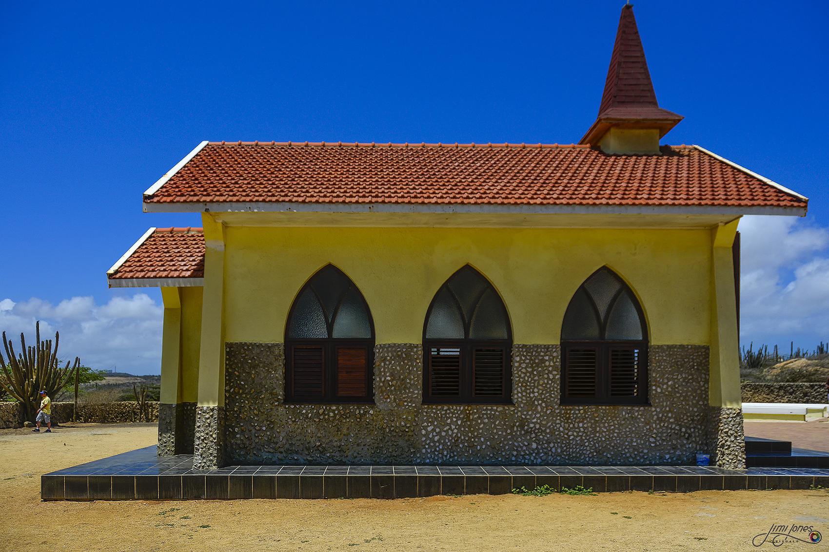 Alto Vista Chapel - Side View