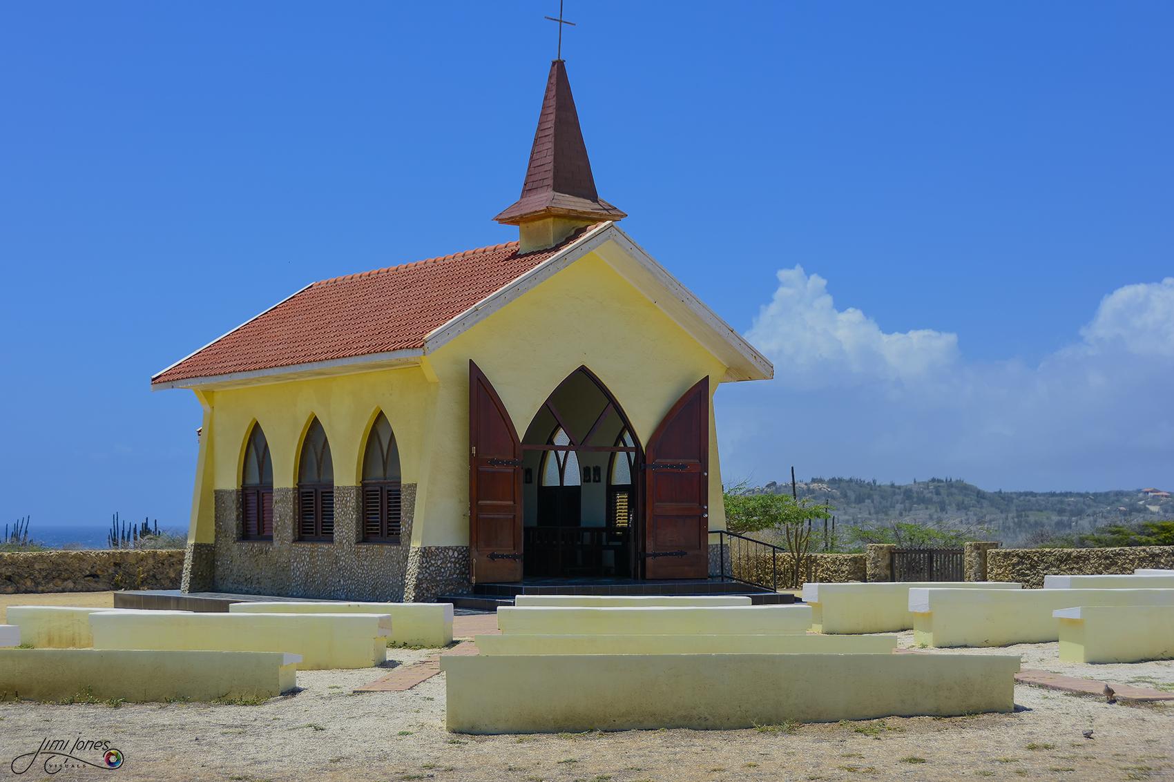 Alto Vista Chapel with Outdoor Pews