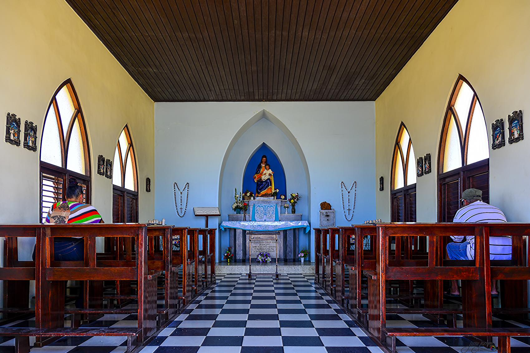 Alto Vista Chapel - Inside View