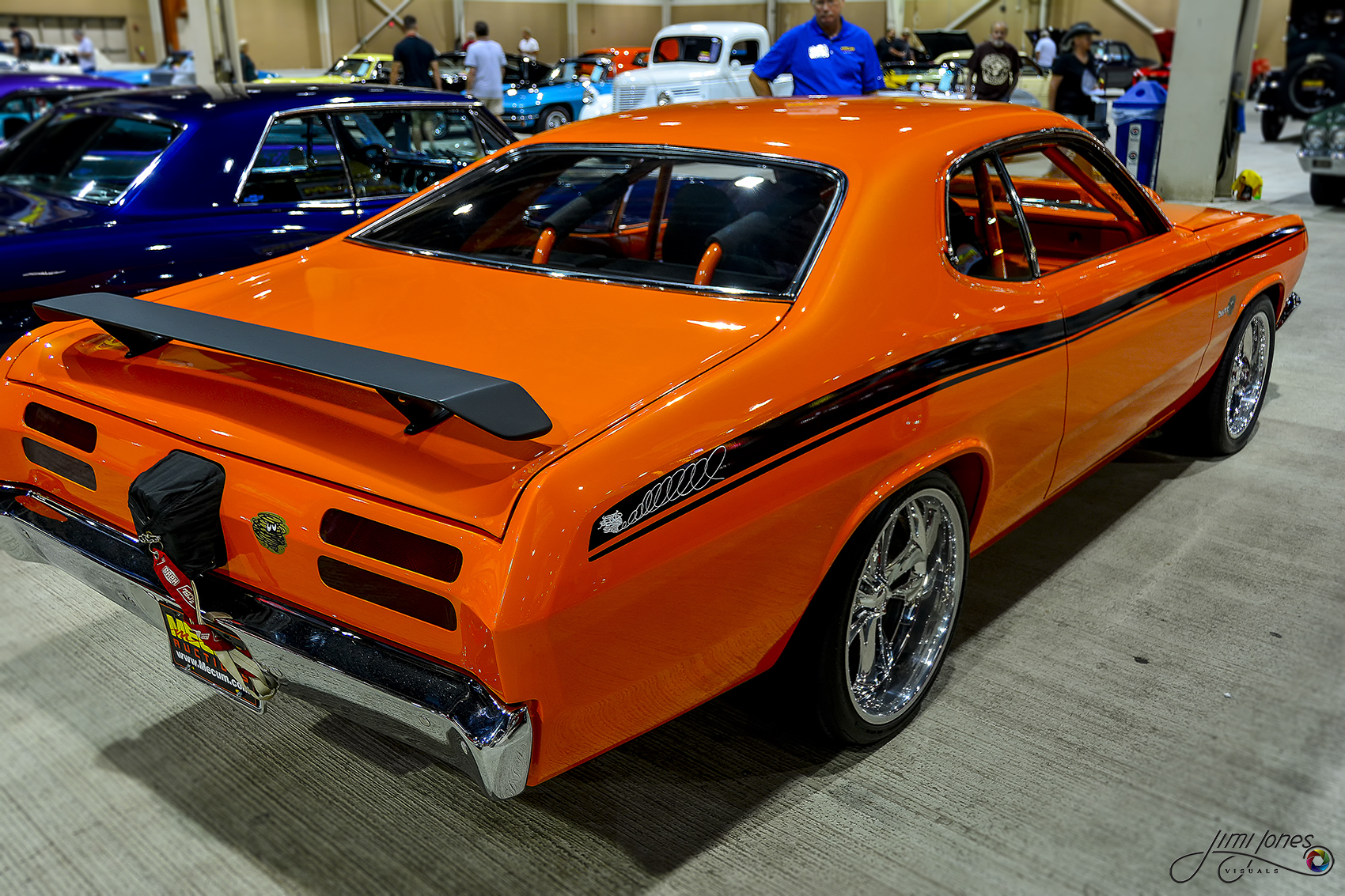 1970 Plymouth Duster - Angled View