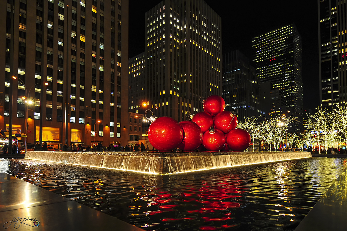 Large Christmas Ornaments in New York