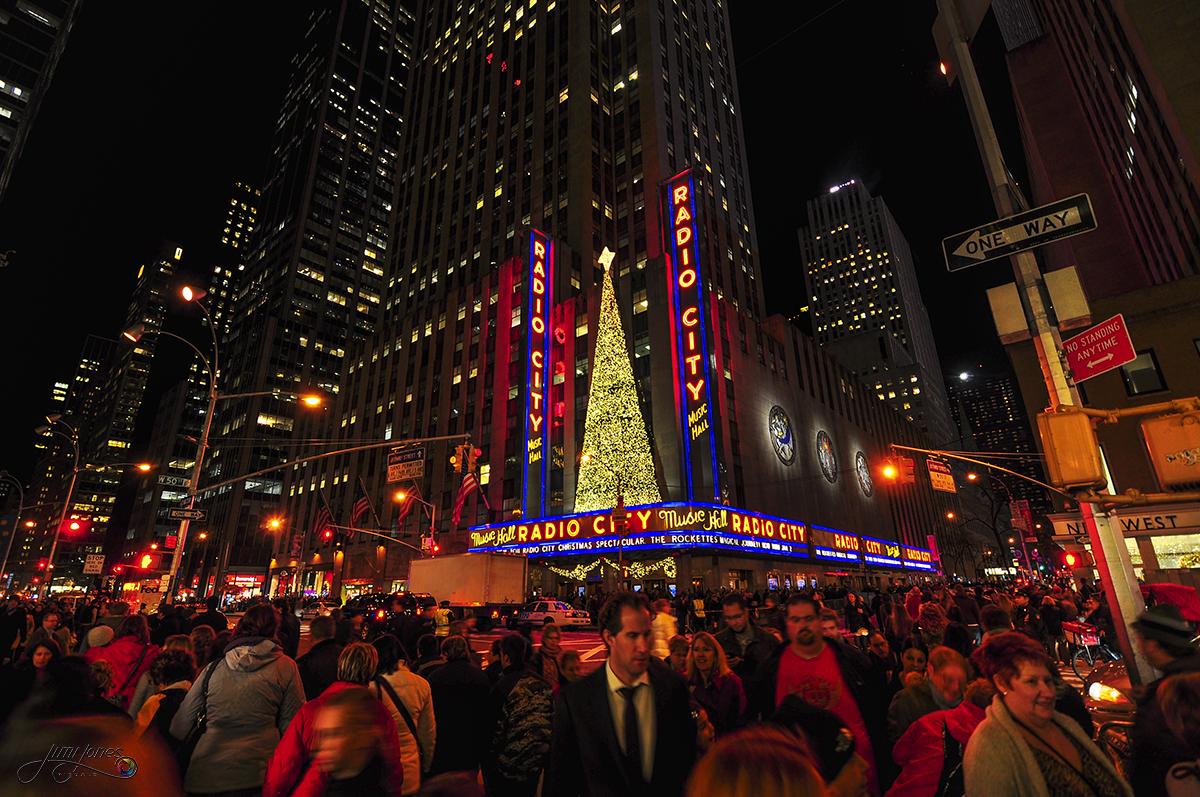 Radio City Music Hall Street Scene